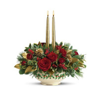 Lenox Holly-Day Bouquet by Teleflora