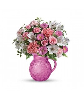 Pour On Pink Bouquet